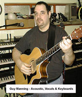 Guy Manning in the studio 2002 (courtesy)